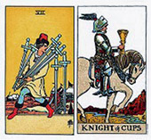 7-of-swords-with-knight-of-cups